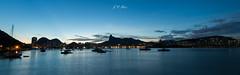 Wide view of Rio from the Urca neightborhood (Jos Eduardo Nucci) Tags: sunset panorama riodejaneiro
