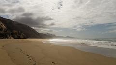 (445) (yo66x) Tags: travel strand spain fuerteventura canarias motive xfiles islascanarias jandia pjara fusspuren playadebarlovento