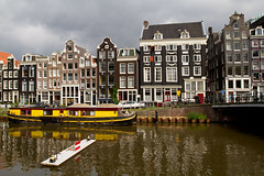 On the Singelgracht (K Jurgens) Tags: amsterdam houseboat singelgracht sliderssunday