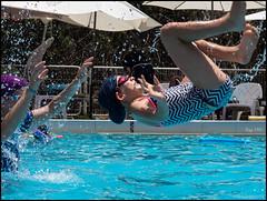 Fun at the Pool 177/366 (urini) Tags: lumix ella 365 gx8 365project