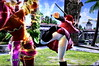 The viewing of a boot to the face.. (Cliffather) Tags: soulcalibur videogame fightinggame ps3game namco upskirt stockings wilma boots 1000views