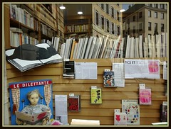 Bookshop (Kay Harpa) Tags: paris france book shopwindow poems livre baudelaire lesfleursdumal thebiggestgroup lesparadisartificiels photokay juin2016