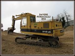 Caterpillar 219 LC (DaveFuma) Tags: caterpillar pelle 219 excavator crawler raupen tracked bagger escavatore ketten ruspa excavateur congolato