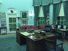 "Oval Office of President Truman • <a style=""font-size:0.8em;"" href=""http://www.flickr.com/photos/109120354@N07/27754671172/"" target=""_blank"">View on Flickr</a>"
