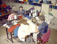 Coverdale Knitting Mill garment factory (Provincial Archives of Alberta) Tags: canada calgary sewing alberta garments factories manufacturing garmentindustry