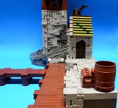 NoFig//Side view 1 (CeiCrownieGuy) Tags: ocean docks lego no lor figs lenfald crakenhaven