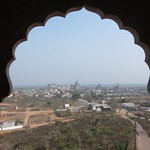 "View from Lakshmi Narayan Mandir <a style=""margin-left:10px; font-size:0.8em;"" href=""http://www.flickr.com/photos/14315427@N00/6776556100/"" target=""_blank"">@flickr</a>"