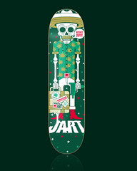 JART SKATEBOARDS - Mathieu Dupuy Pro Model (Victor Ortiz - iconblast.com) Tags: barcelona music southamerica colors illustration magazine print mexico design spain graphics colorful message graphic awesome victor musical skate skateboard strong positive concept trend skateboards brand medellin industries ilustracion artdirection mejor gestalten jart barranquilla mejico victorortiz daewonsong rodneymullen ffffound iconblast
