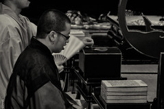 Lotus Sutra (Tonshae festival Kumamoto) ( Ogawasan) Tags: japan asia prayer religion monk buddhism philosophy  asie japon giappone kumamoto japane  nichiren  siapan japonya  mahayana yaponiya jaapan nichirenbuddhism japonsko     tonshae ogawasan   honmyoji mahyna     thegreatvehicle   japosk japaska   honmyji