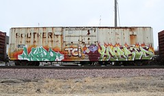 WALDO HYBRID (Reckless Artist) Tags: car minnesota train canon bench fire photography perfect artist shot box champs cities twin southern suburb hybrid waldo freight inc burners incorporated reckless tci illest e2e benching end2end benchers