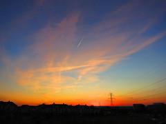 Sunset over Herndon, VA.