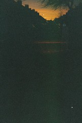 (Berta Loui) Tags: sunset dusk spirit ghost disposablecamera nightscene apparition
