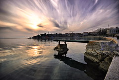 Bavice (Damir B. - Real estate photographer) Tags: sunset sea sun beach clouds dusk croatia more split adriatic hrvatska jadran dalmatia dalmacija zalazak bavice mygearandme mygearandmepremium mygearandmebronze mygearandmesilver mygearandmegold mygearandmeplatinum mygearandmedi
