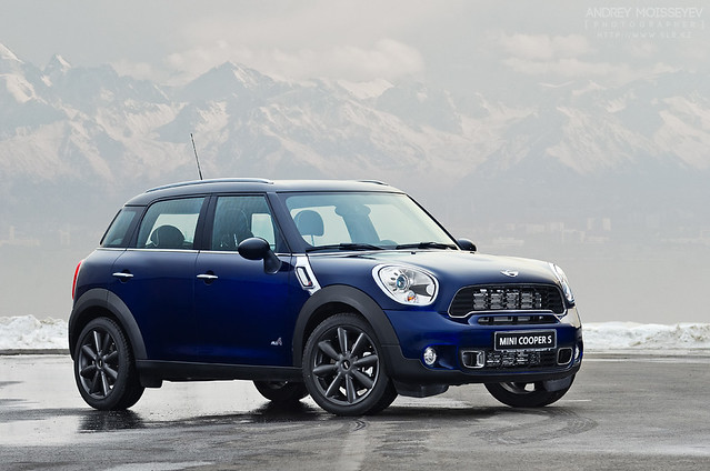 mini coopers all4countryman