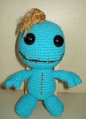 Monster (maselanka) Tags: wednesday doll sale redhead amigurumi fs chrochet zdjcia sackboy