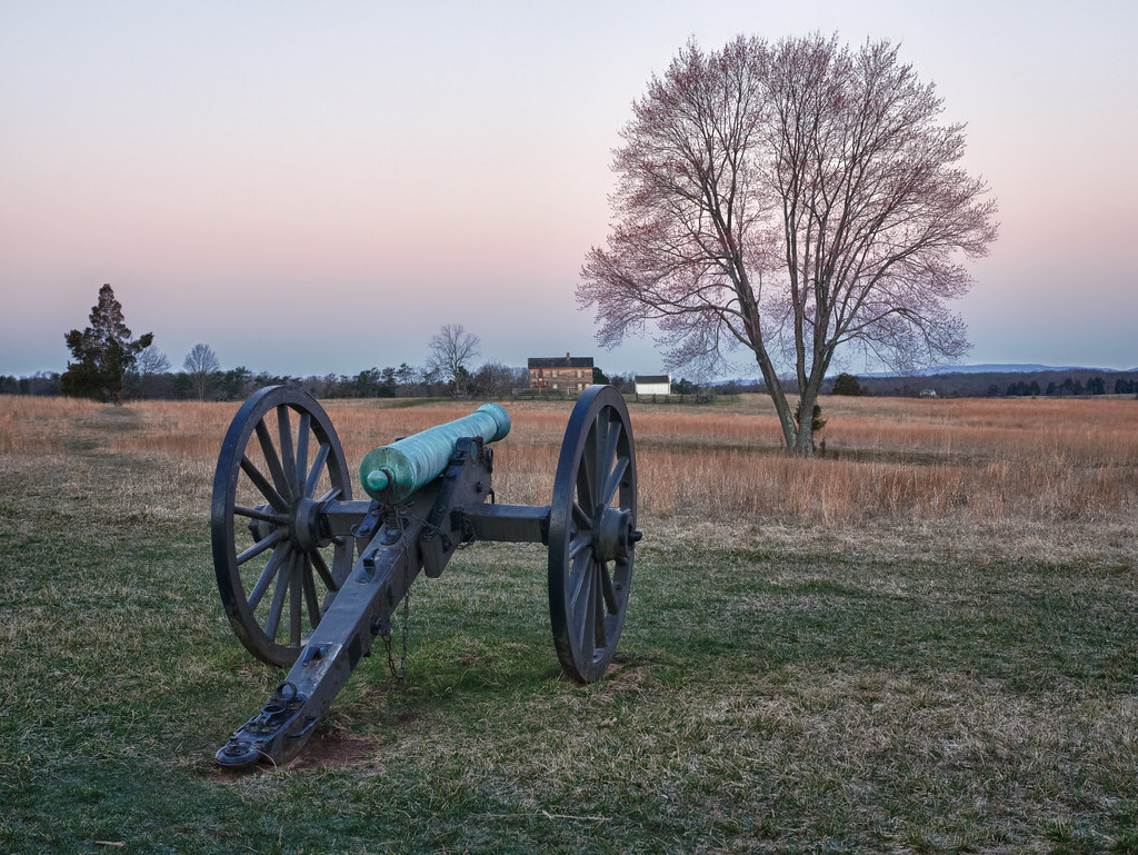 Manassas Sunrise, by Reed A. George