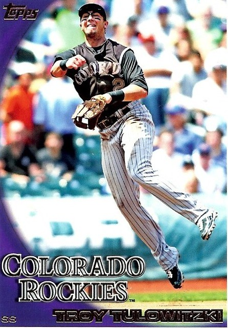 2010 Topps Series 2 #389 TROY TULOWITZKI