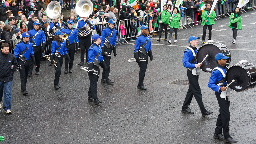 Marvin Ridge High School Band, North Carolina (USA) - St. Patrick's Festival In Dublin