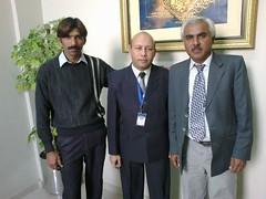 SHAHID HUSSAIN WITH QASIM AND HAJI SODHO (ABDALIAN1) Tags: office nawabshah regiona