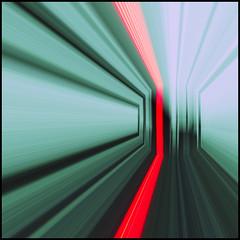 Red Light Slid - EXPLORED (Paul J Chapman Photography) Tags: pixel bender slidersunday hsssquare