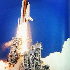 First Pic in My Statics Book - It's On! #space #shuttle