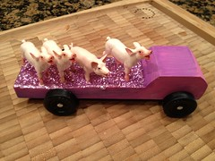 Erin's 2012 Outlaw Car for Pinewood Derby (alexmuse) Tags: mobile scoopt