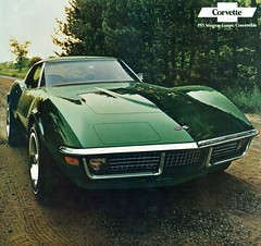 1971 Chevrolet Corvette Stingray Coupe (coconv) Tags: pictures auto old green classic cars chevrolet car vintage magazine ads advertising t cards photo 1971 flyer automobile post image photos stingray antique top album postcard small ad picture images 71 advertisement vehicles photographs chevy 350 card photograph postcards vehicle block autos collectible collectors brochure corvette tops coupe automobiles dealer prestige