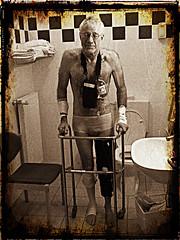 days after (wolfgangfoto) Tags: hospital damaged knee operation wolfgangfoto