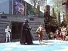 Ally Battles Darth Vader (Scott Parvin) Tags: world animal epcot ally magic kingdom disney jackson villas 2012 parvin
