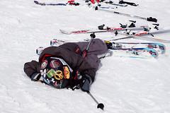 Skiing (Arina Habich) Tags: winter boy sleeping white snow ski mountai