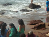 Anjuna beach desi girls relaxing