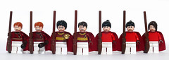 Gryffindor Quidditch Team (Oky - Space Ranger) Tags: team community lego stadium harry potter pitch build quidditch hogwarts slytherin gryffindor