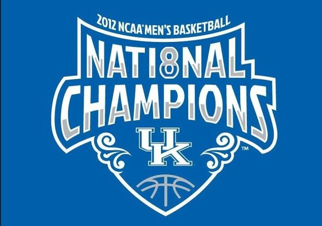 Congratulations UNIVERSITY OF KENTUCKY! 2012 Champions! GO BIG BLUE! #BBN
