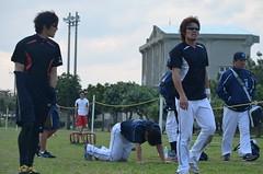 DSC_0149 (mechiko) Tags: 横浜ベイスターズ 120209 荒波翔 嶋村一輝 横浜denaベイスターズ 2012春季キャンプ