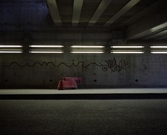 Rue Watt (3) (Philippe Yong) Tags: paris 120 film analog mediumformat concrete neon fuji rangefinder analogue 6x7 80mm mamiya7ii moyenformat pro400h ruewatt neonspace philippeyong wwwpyphotographyfr