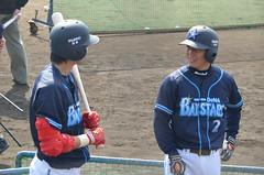 DSC_0528 (mechiko) Tags: 横浜ベイスターズ 120212 石川雄洋 渡辺直人 横浜denaベイスターズ 2012春季キャンプ