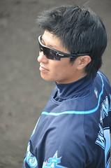 DSC_0858 (mechiko) Tags: 横浜ベイスターズ 120212 渡辺直人 横浜denaベイスターズ 2012春季キャンプ