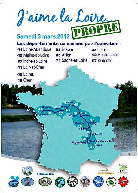 """J - 12  avant lopération annuelle """"Jaime la Loire ... propre"""" !"""