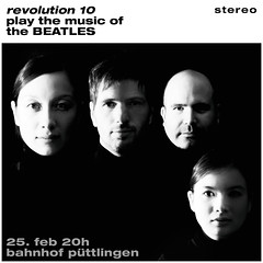"""""""Revolution 10"""" play the music of the BEATLES (designladen.com) Tags: beatles"""