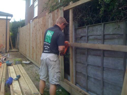 Hardwood Decking Alderley Edge - Modern Family Garden. Image 7
