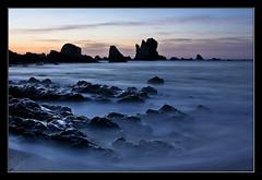 Los sonidos del silencio (Chus Ochoa) Tags: sunset sea espaa seascape beach marina mar spain asturias playa ocaso cudillero newvision playadelsilencio mygearandme mygearandmepremium mygearandmebronze mygearandmesilver mygearandmegold peregrino27newvision