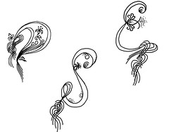 Grobuchstaben fr Titelbanner (Sylvia Aljana) Tags: versalien majuskel grosbuchstaben dersternvonerui verschnrkeltebuchstaben anfangsbuchstaben