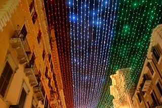 Luces tricolor de Roma
