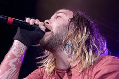 TheUsed58U (supercharger5150) Tags: concert livemusic band denver co mic vocals toc liveshow bertmccracken magness rockstartasteofchaos