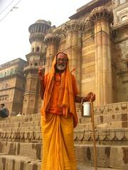 Sadhu 2 (Shaun D Metcalfe) Tags: india boats death laundry varanasi spirituality bathing universe hindu pilgrimage ganges ghats benares uttarpradesh sadhus