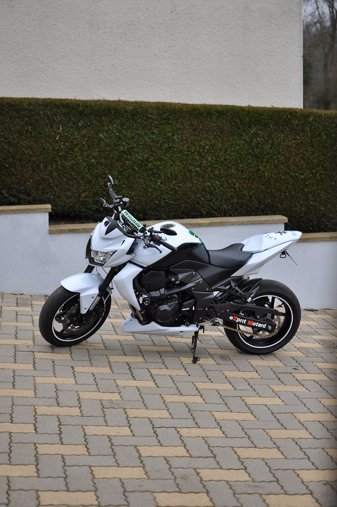 DSC 0072 Elpc Photos Tags White Pearl Z Stardust Kawasaki 2010 750 Z750 Carbone