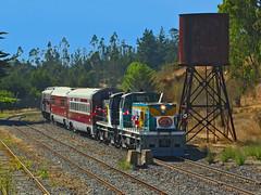 Expreso del Recuerdo. (DeutzHumslet) Tags: chile del canon tren tourist recuerdo locomotive expreso sanantoni efe sx20 expresstrain malvilla accpf brissoneauetlotz ringexcellence bb63400