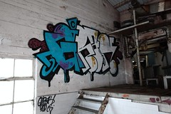 Girak (stilfizk) Tags: norway graffiti stavanger factory colours tag graf letters tags piece bombing lmm girak girack