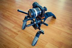 (3rdeyepro) Tags: cinema prime video minolta budget gear mount rig adapter manual dslr shoulder rokkor vs2 runandgun fdff followfocus hdslr nex7