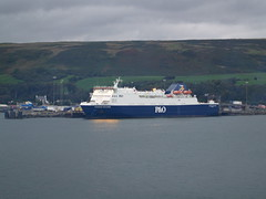 MV European Highlander (divnic) Tags: sea ferry scotland boat vessel roro cairnryan irishsea dumfriesandgalloway pando lochryan ropax europeanhighlander mitsubishiheavyindustries ropaxferry cairnryanlarne pandoirishsea larnecairnryan imonumber9244116 9244116 mfeuropeanhighlander